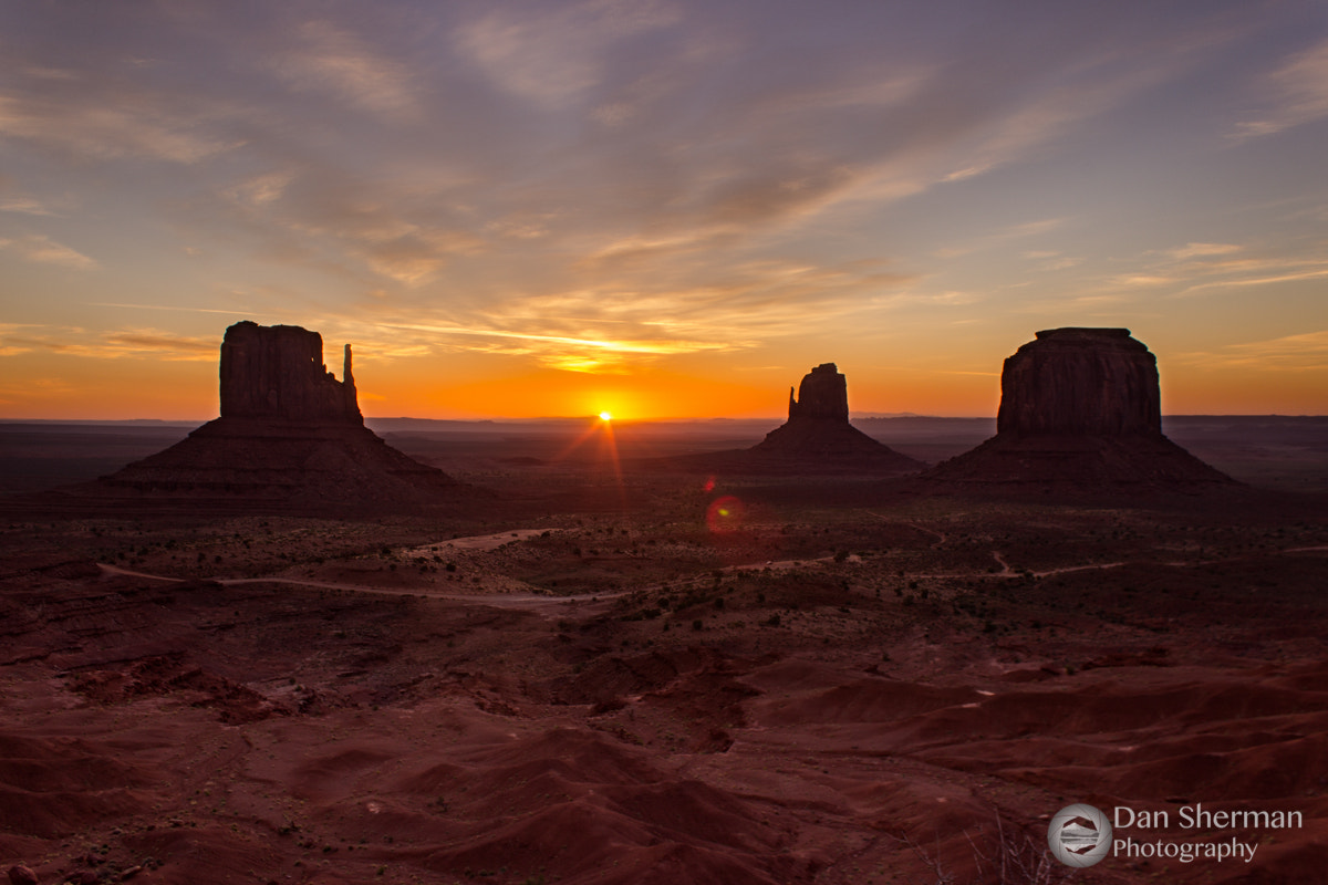 Photograph Sunrise In Monument Valley by Dan Sherman on 500px