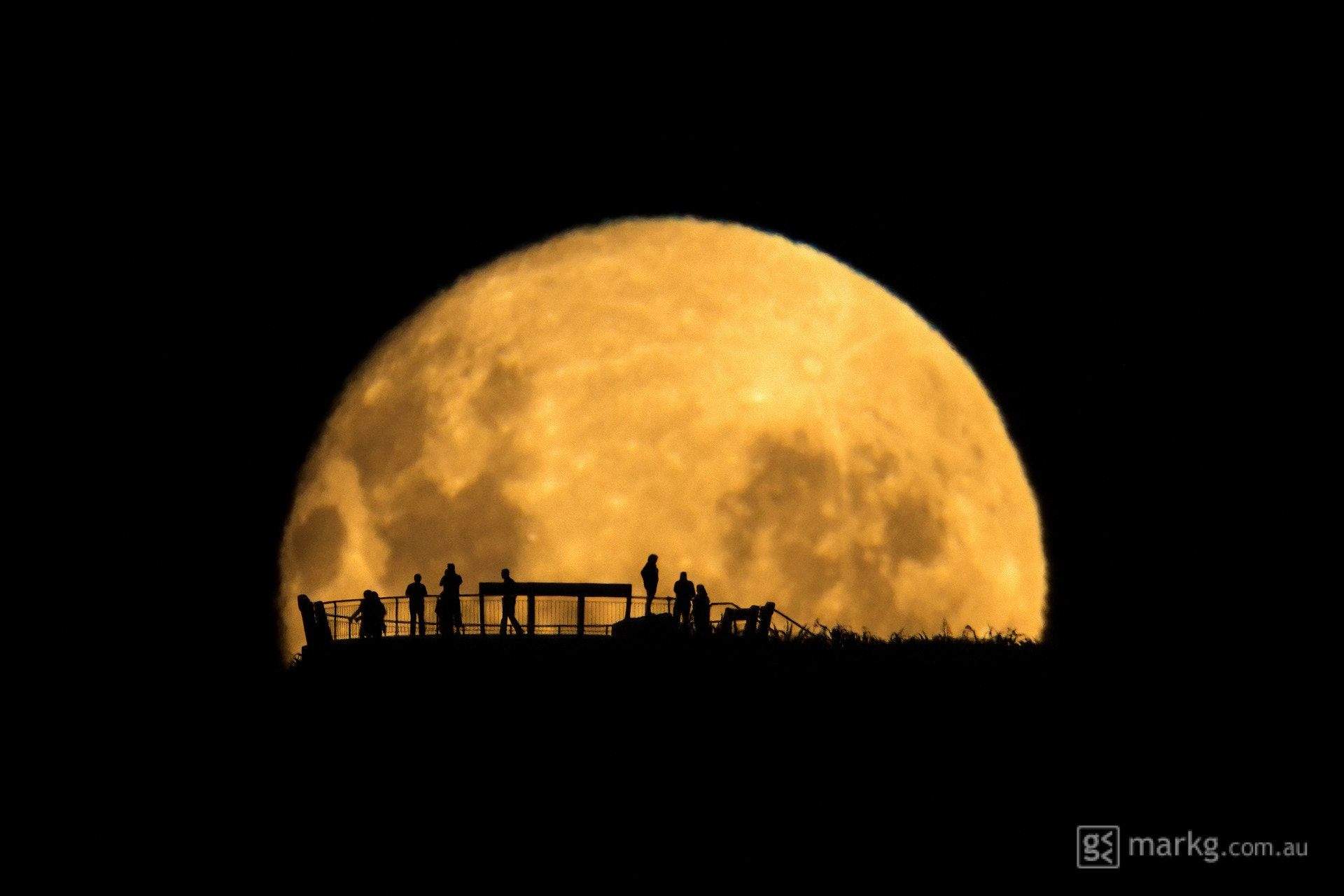 Photograph Moon Silhouettes by Mark Gee on 500px