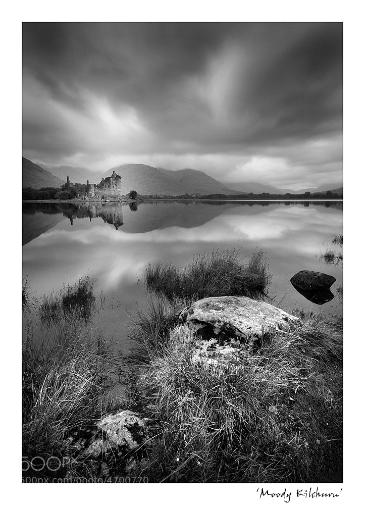 Photograph Moody Kilchurn Castle by Angela  Joel on 500px