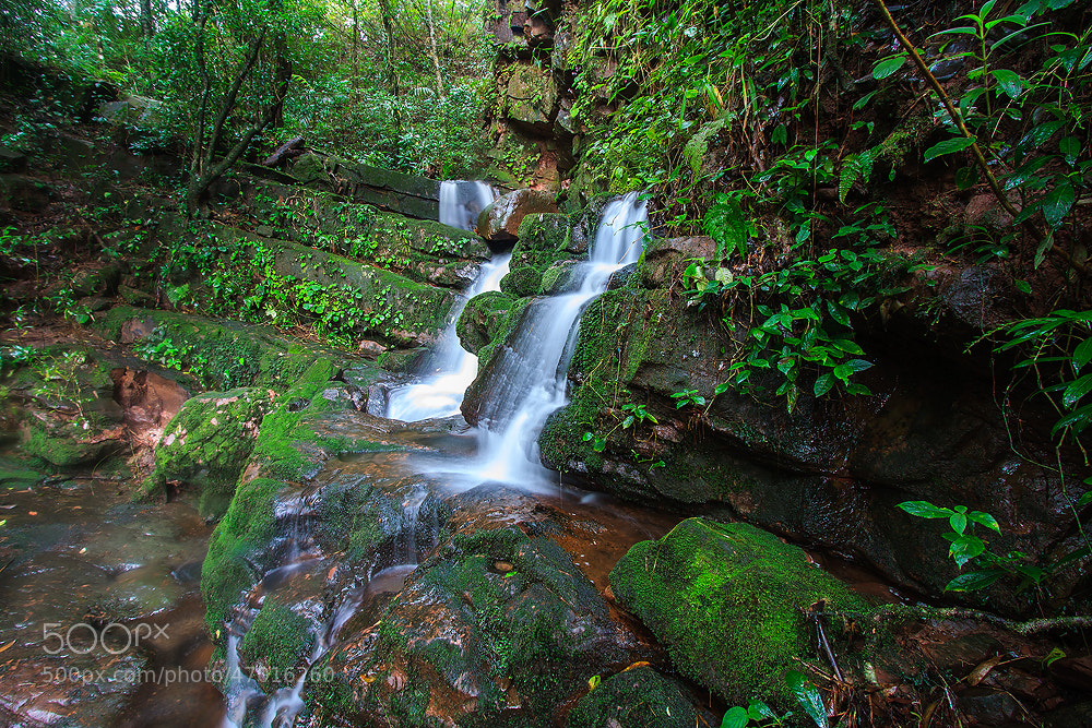 Photograph Sai Thip Waterfall by Chinnawat Khatwang on 500px
