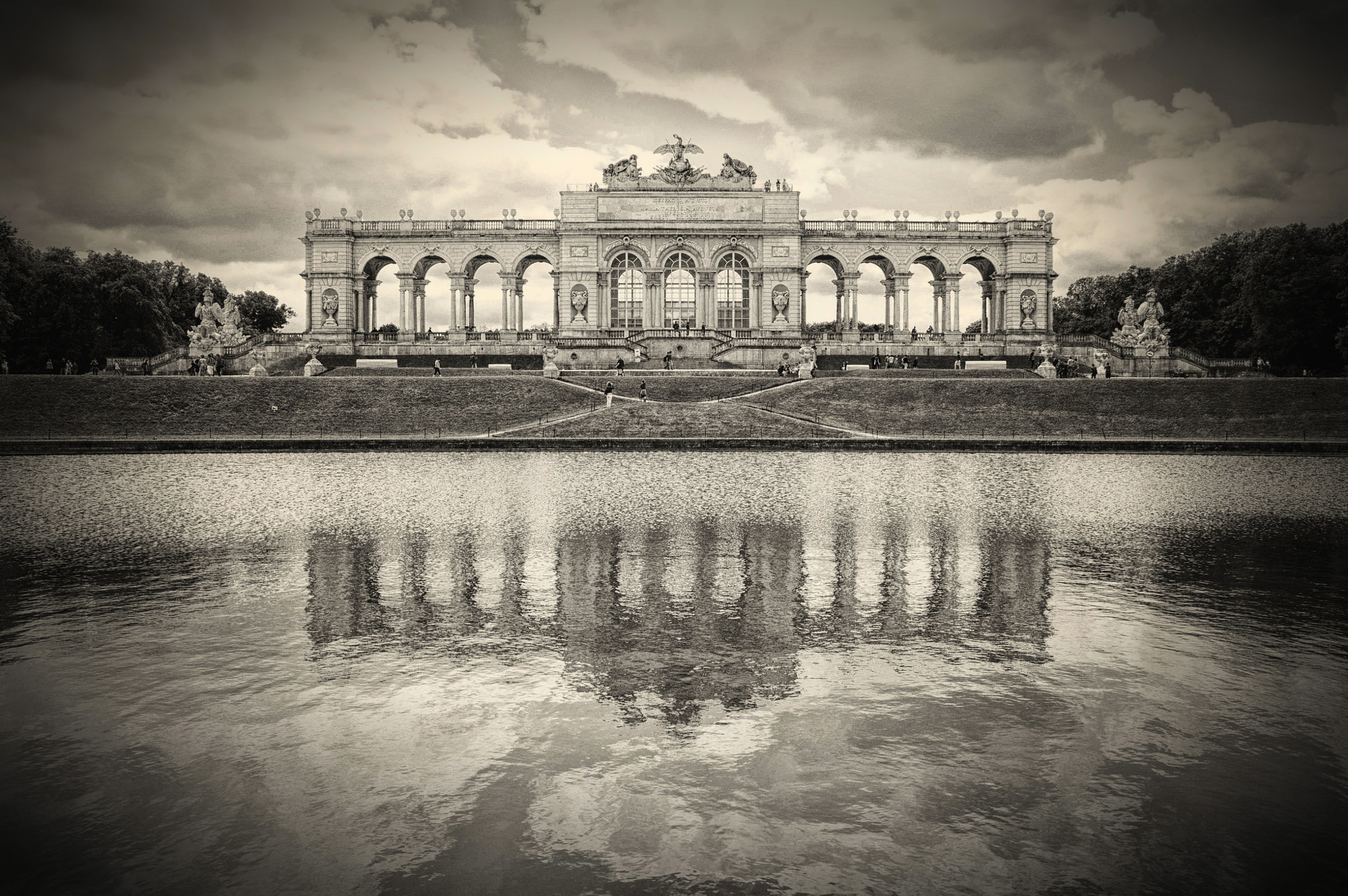Photograph Gloriette Vienna, Austria. by Sabrina Marchi on 500px
