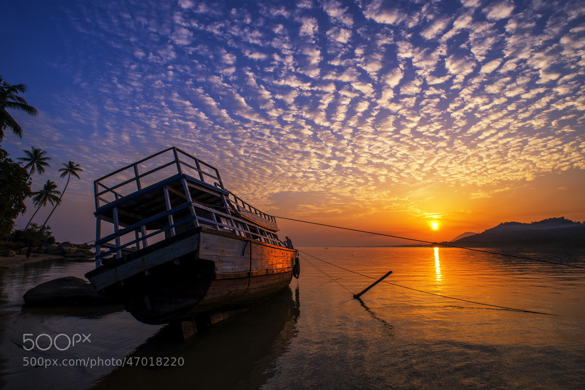 Photograph Sunrise at Singkawang by SIJANTO NATURE on 500px