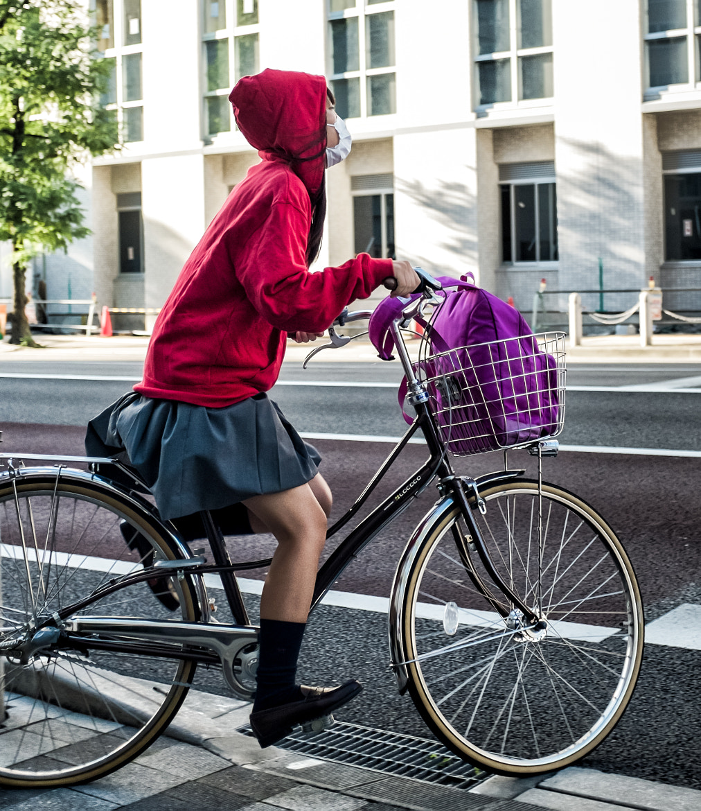Photograph Little Red Biking Hoodie by Chaz Wright on 500px