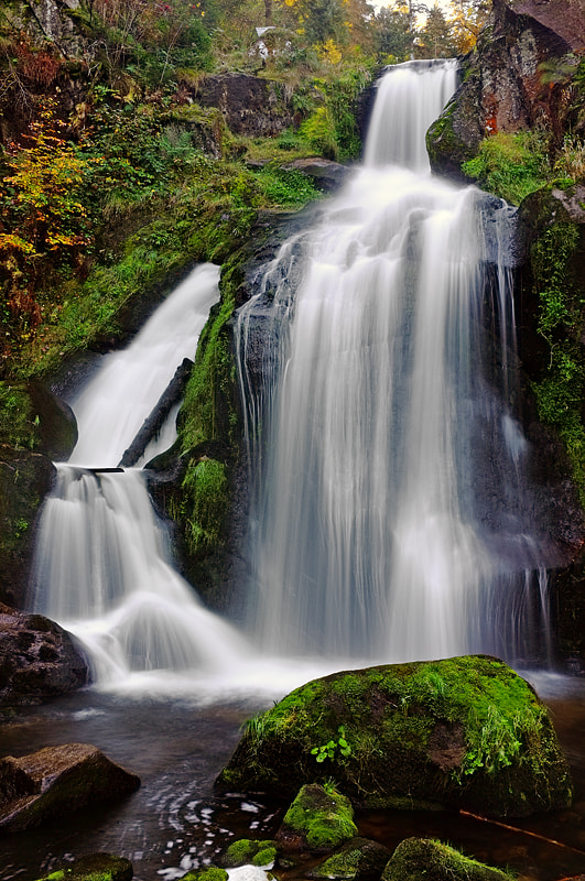 Photograph Triberg waterfall by Michele Galante on 500px