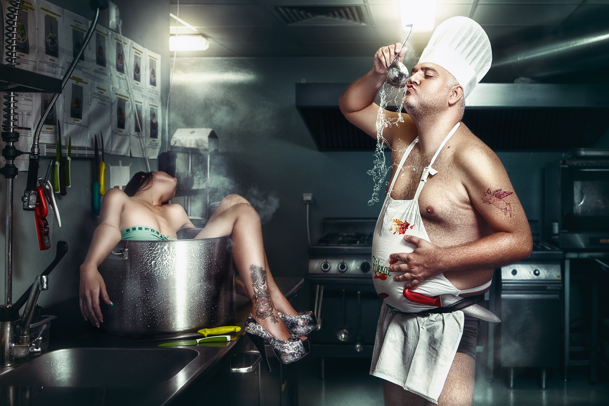 Photograph The Cook by Daniel Ilinca on 500px
