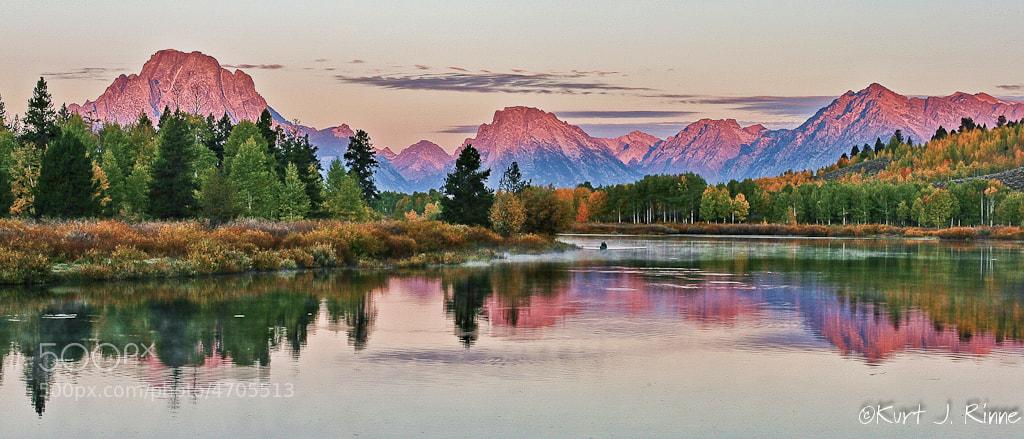 Photograph Grand Tetons Sunrise by Kurt Rinne on 500px