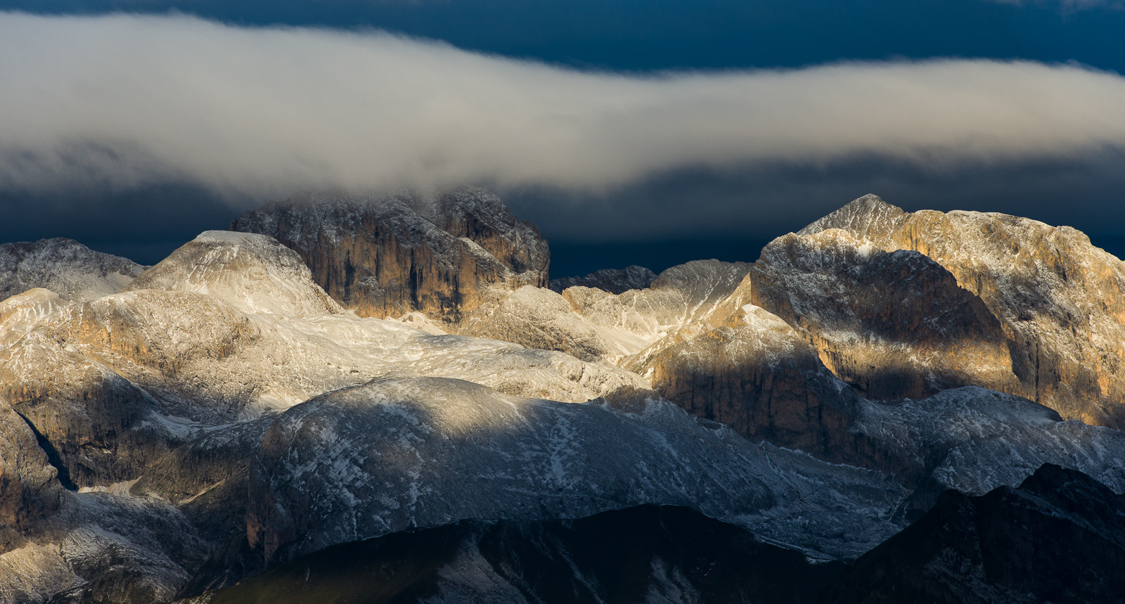 Photograph Clouds and mountains in the Dolomites by Hans Kruse on 500px