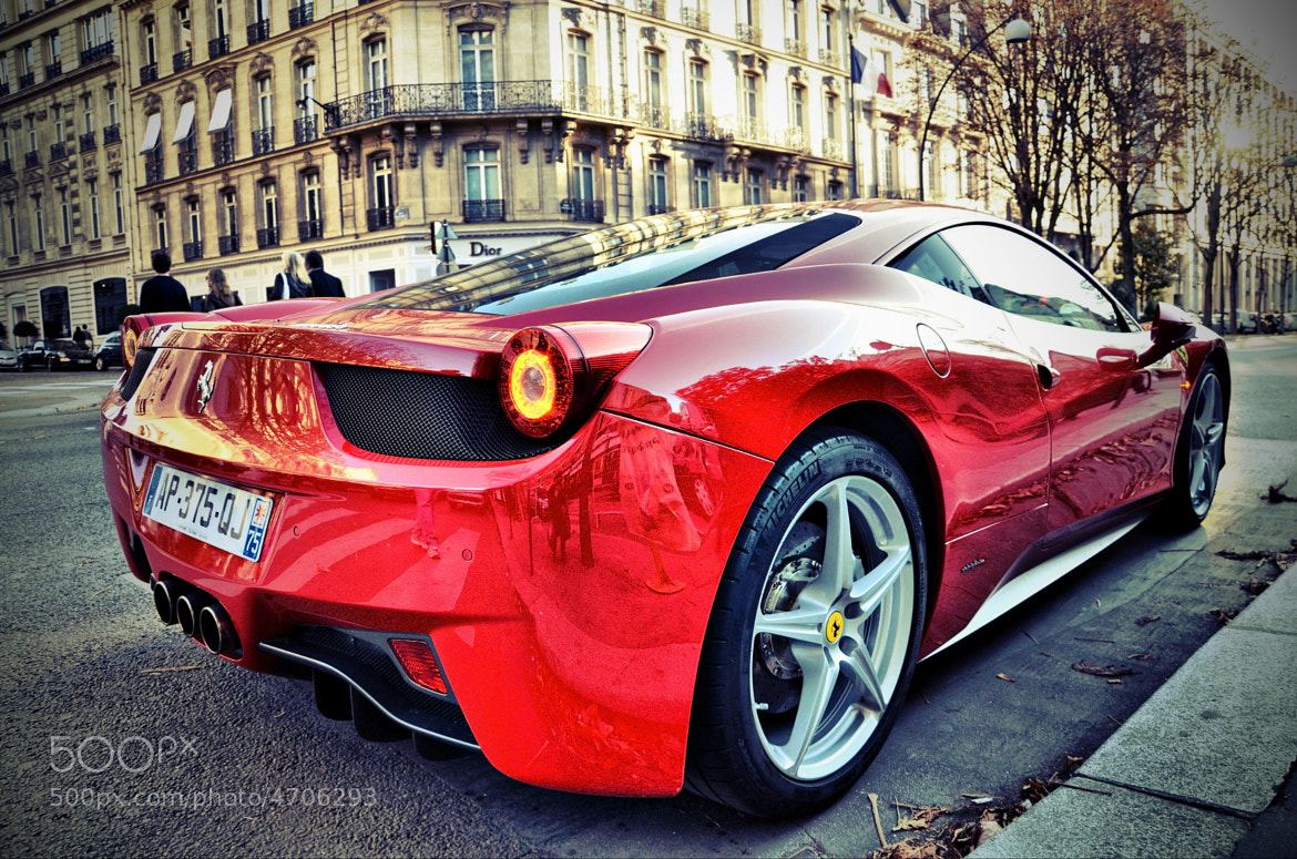 Photograph 458 Italia by Paul SKG Photography on 500px