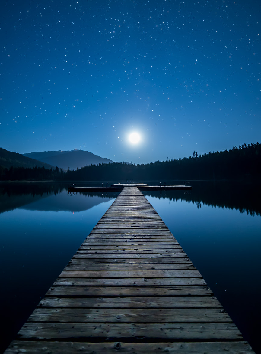 Photograph Moonlight Dock by James Wheeler on 500px