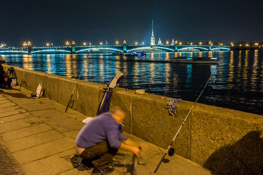 Photograph fishing by Ilya @iPhotoN on 500px