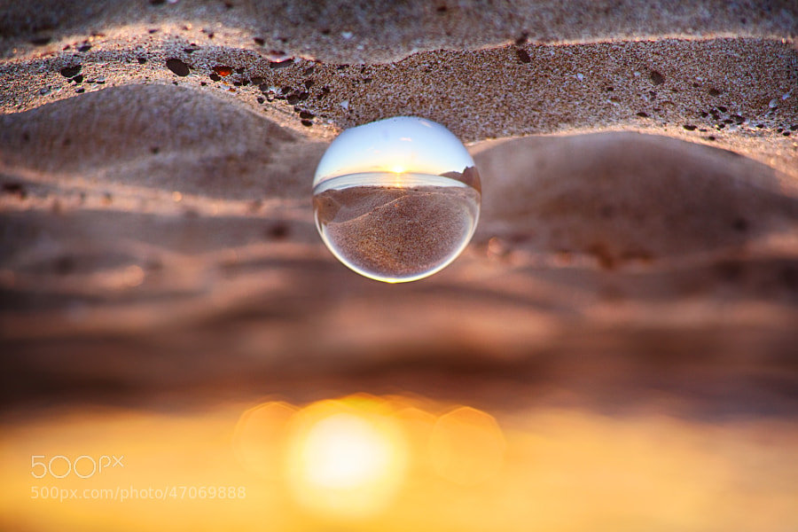 Photograph Crystal Ball Sunset by Jason Matias on 500px