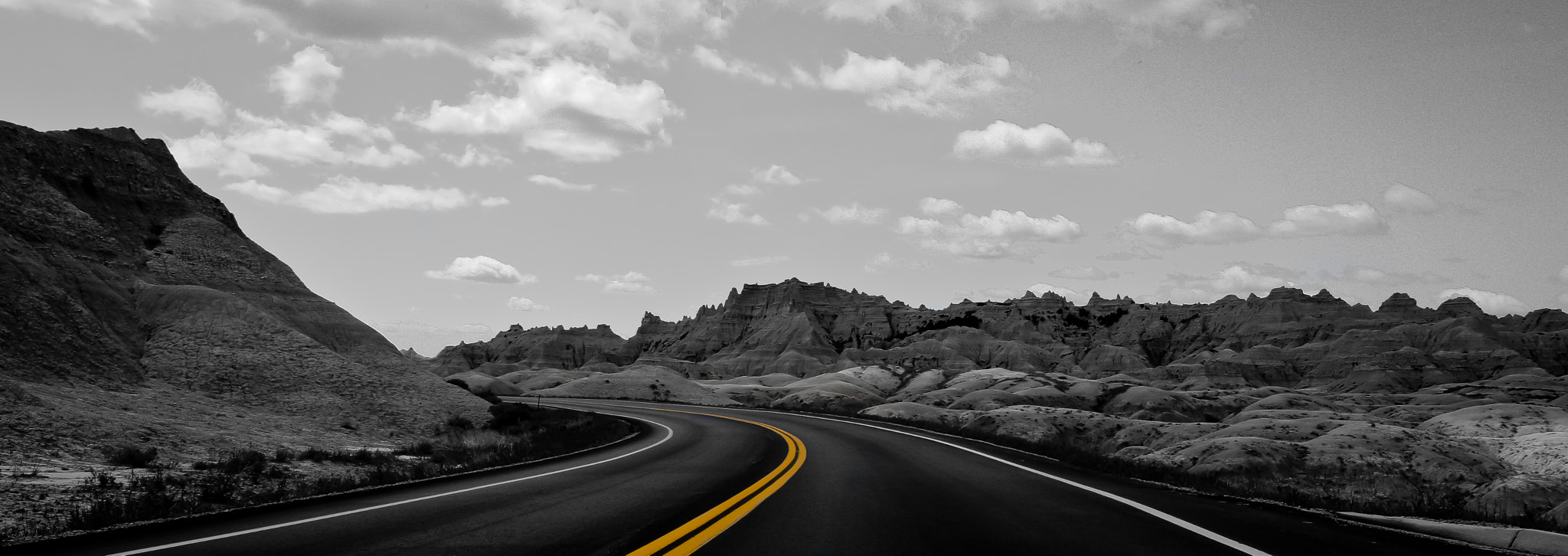 Photograph 2 Lane Blacktop by C. Feggestad on 500px