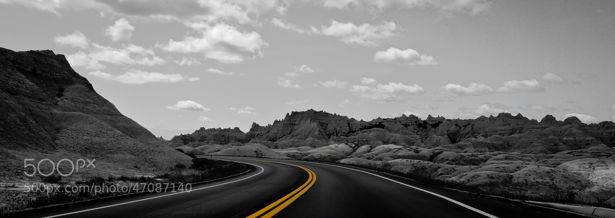 Photograph 2 Lane Blacktop by Cory Feggestad on 500px