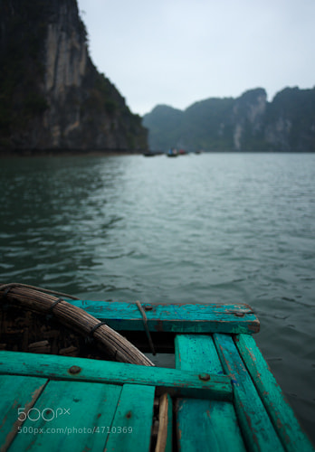 Photograph Bamboo boat, Ha Long bay by Ross Holmberg on 500px