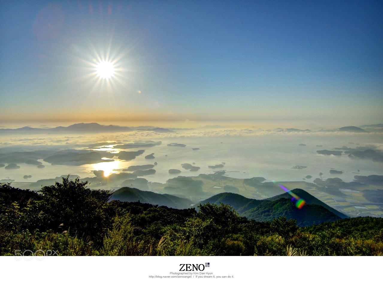 Photograph Hadong Geumosan Sunrise by Kim DaeHyun on 500px