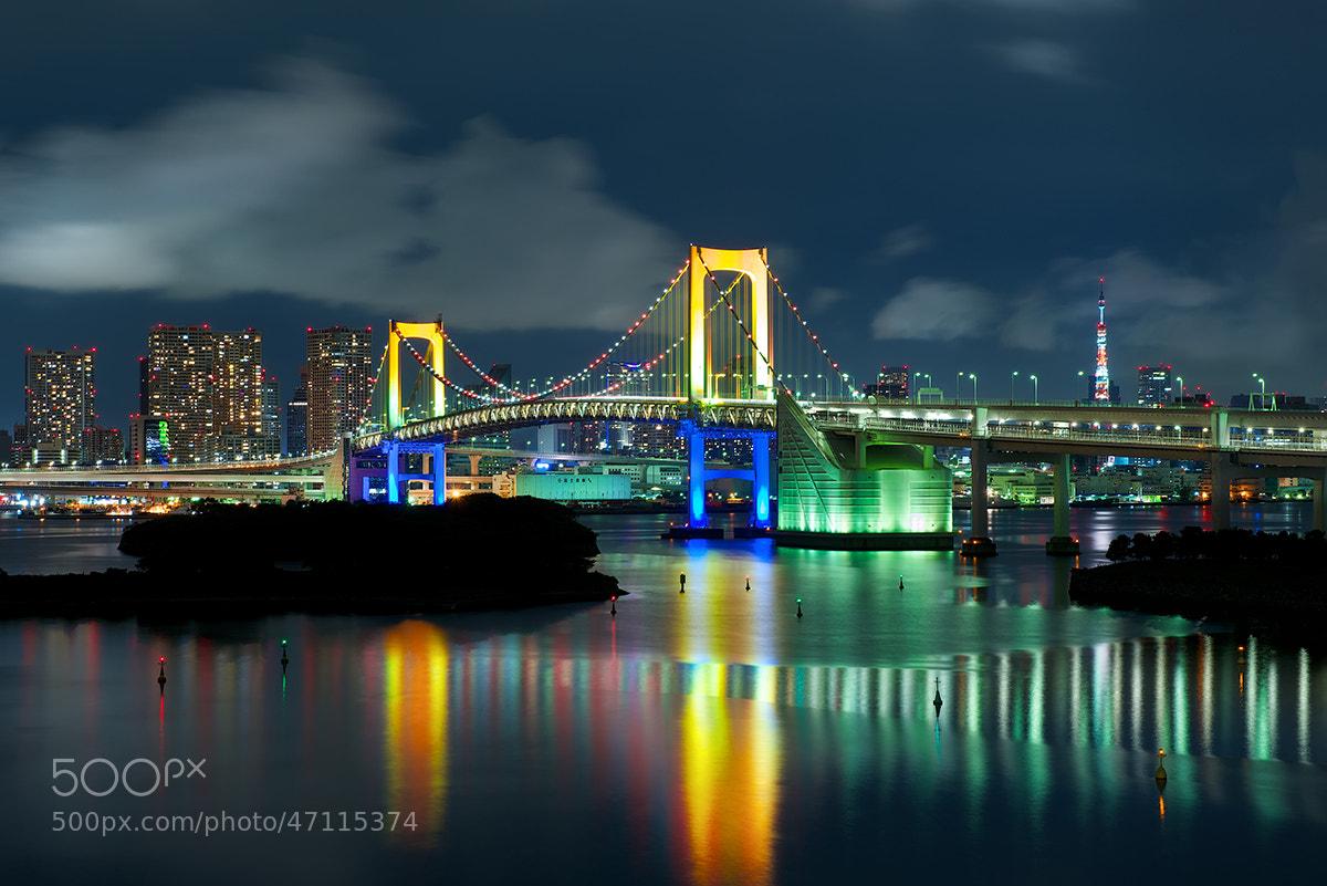 Photograph Rainbow Bridge, Tokyo by David Kosmos Smith on 500px