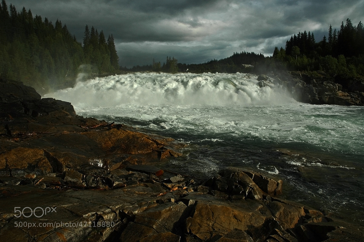 Photograph Norway Waterfall by Michael Hubrich on 500px