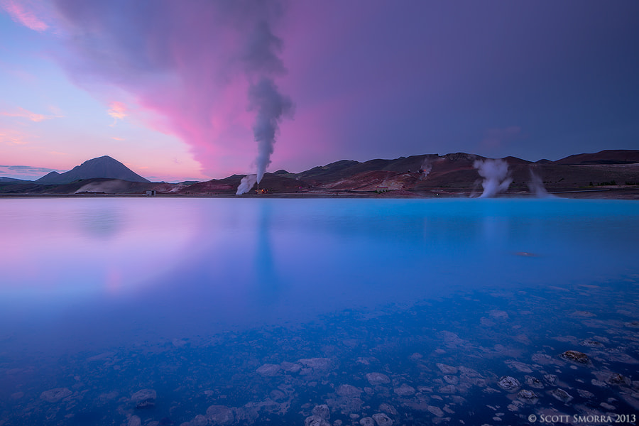 Photograph Geothermal Blues by Scott  Smorra on 500px