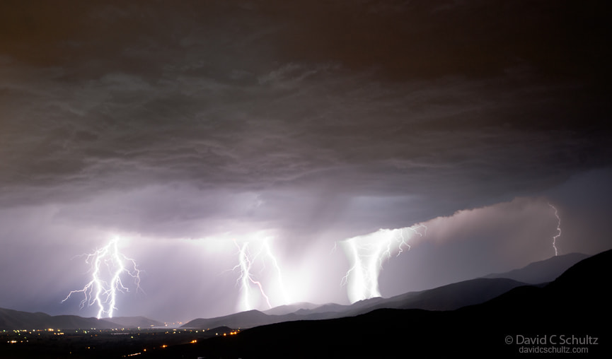 Photograph Storm over the Wasatch Mountains by David C. Schultz on 500px