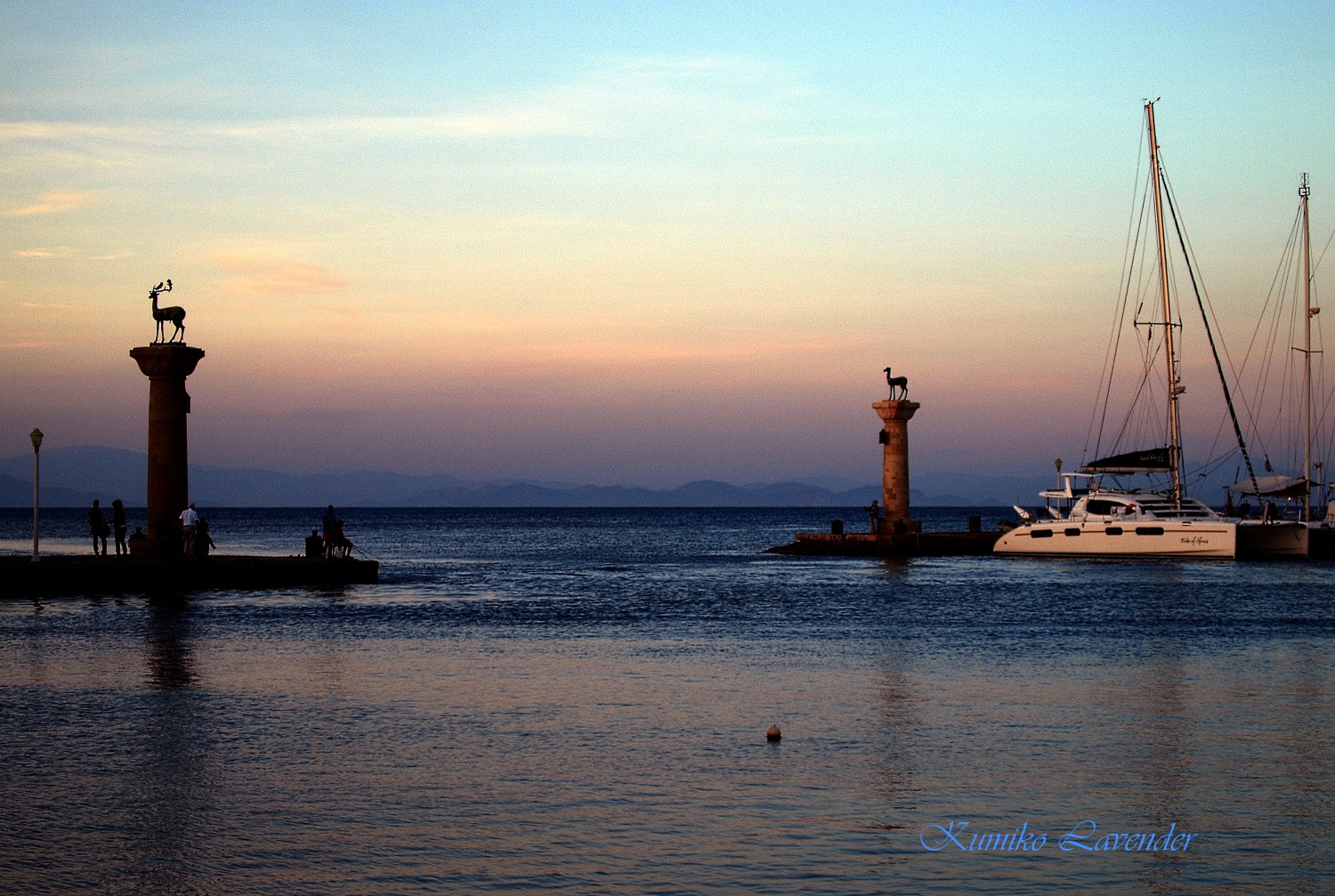 Photograph Twilight in Rhodes island by Kumiko  on 500px
