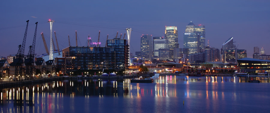Docklands View, Before Sunrise