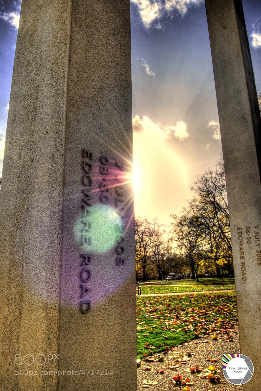 Photograph London Memorial Sun Set by James Murray on 500px