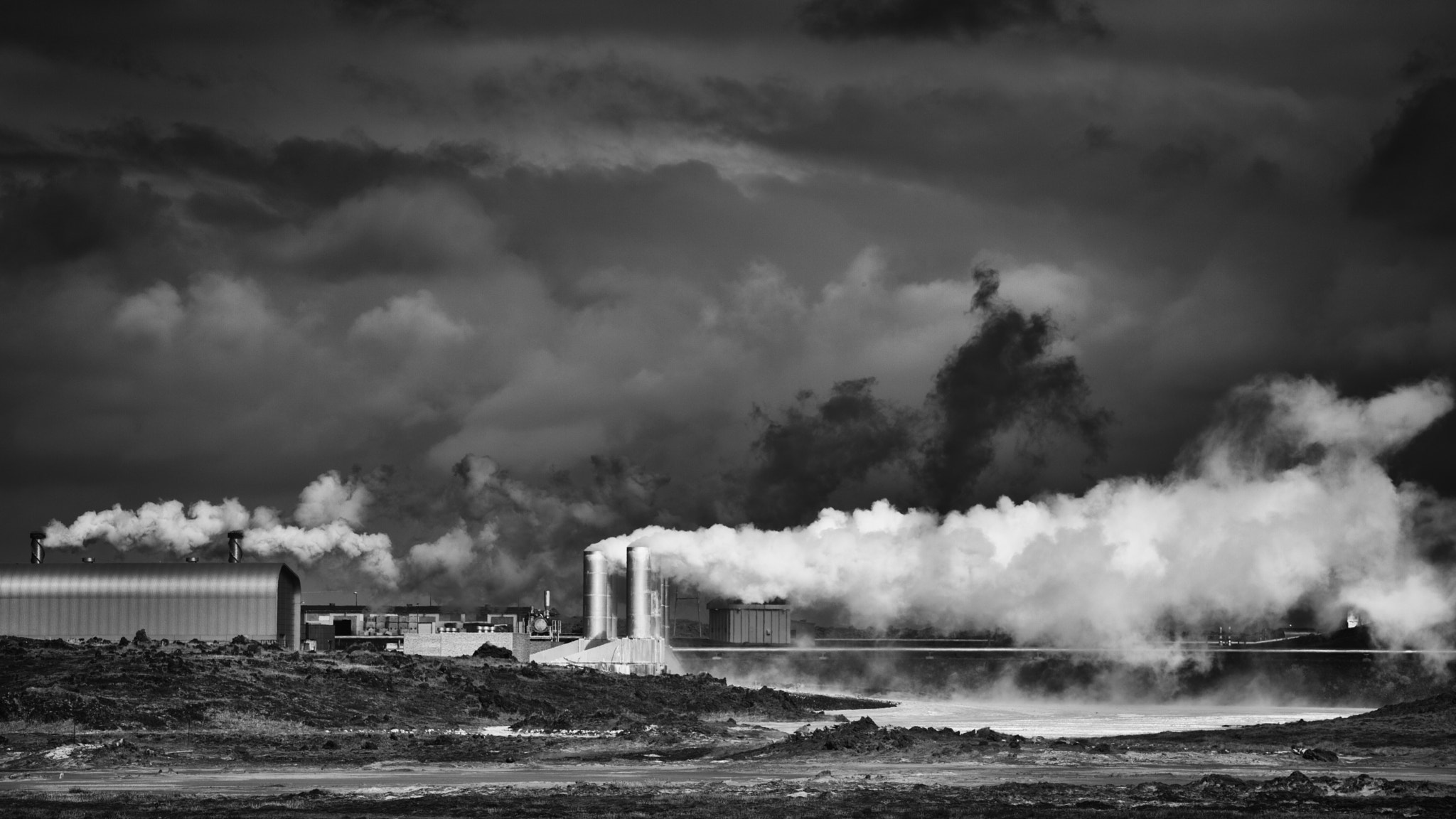 Photograph Geothermal Power Plant by Martin Bailey on 500px