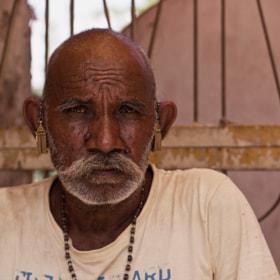 Serious Man of Rajasthan