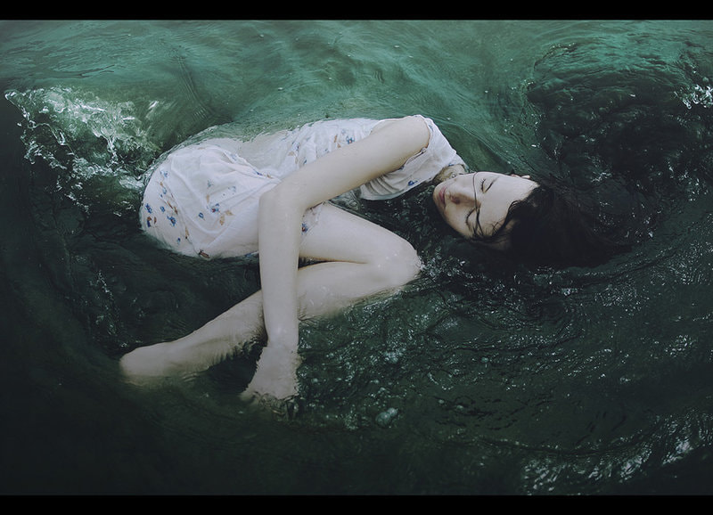 Girl and the ocean by Alexandra Sophie on 500px.com