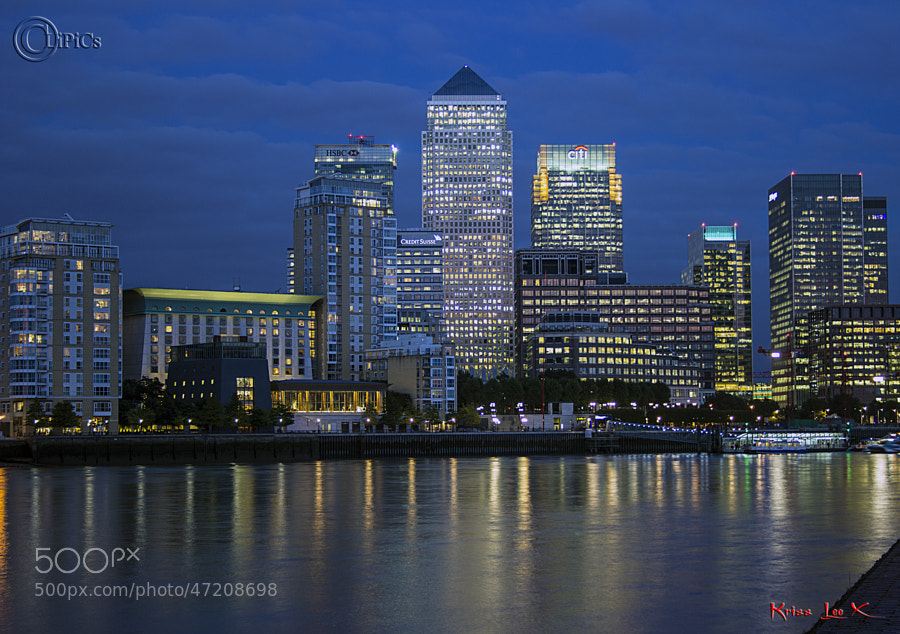 Dusk across the Thames by Kriss Lee on 500px.com