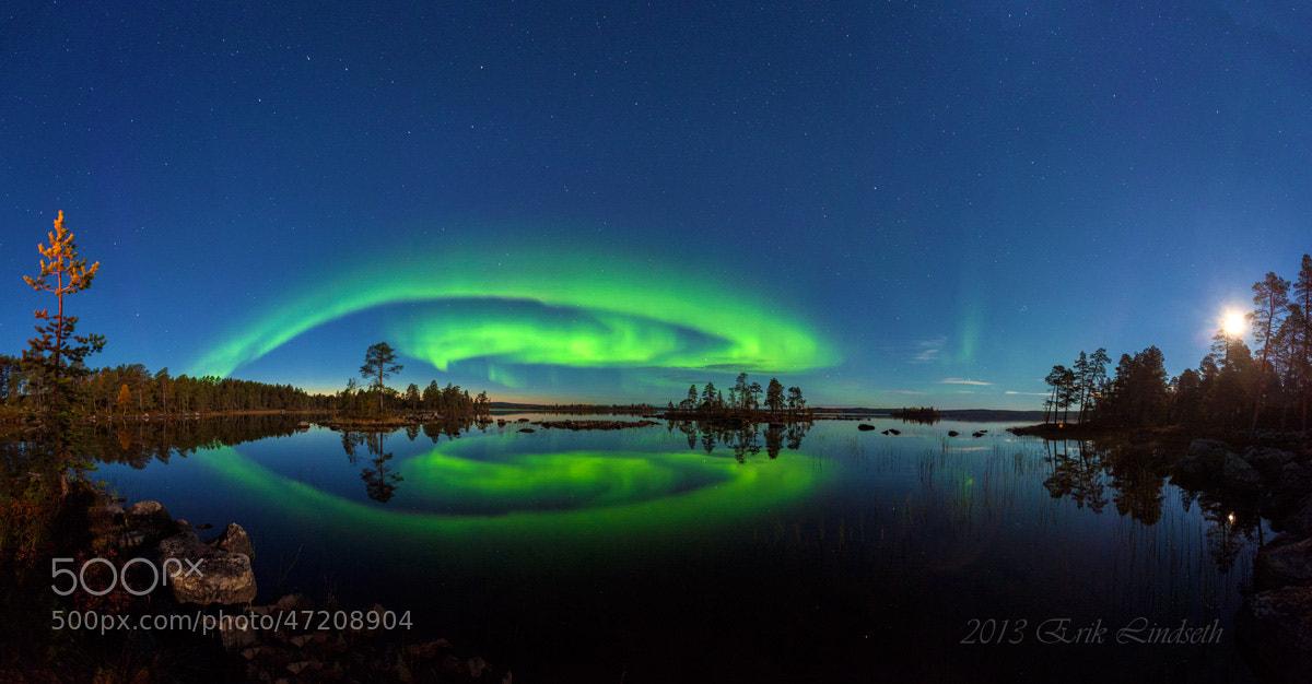 Photograph Northern light over Pasvik by Erik Lindseth on 500px