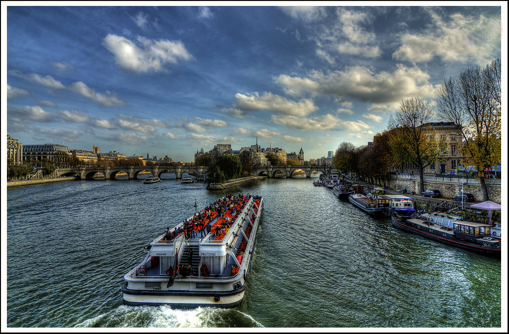 Photograph La Seine, Paris by dogukan canakkale on 500px