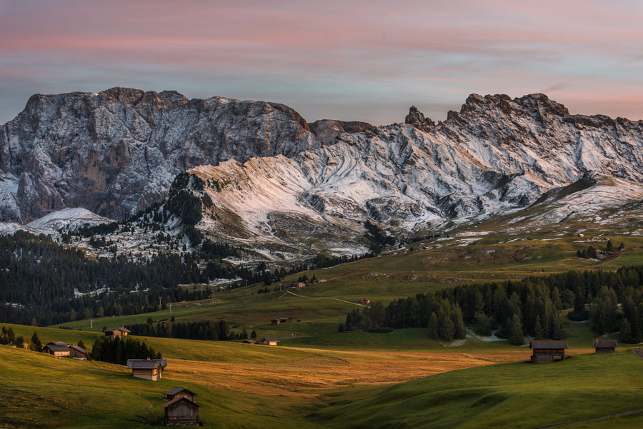 This photo was shot during the Phase One PODAS September 2013 photo workshop in the Dolomites, Italy.
