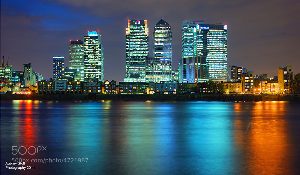 Photograph Canary Wharf (London) by Aubrey Stoll on 500px