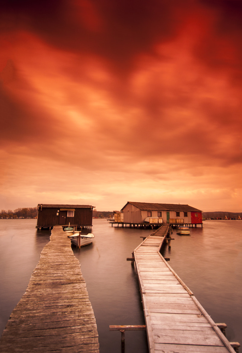 Photograph Evening on the Lake by Csilla Zelko on 500px