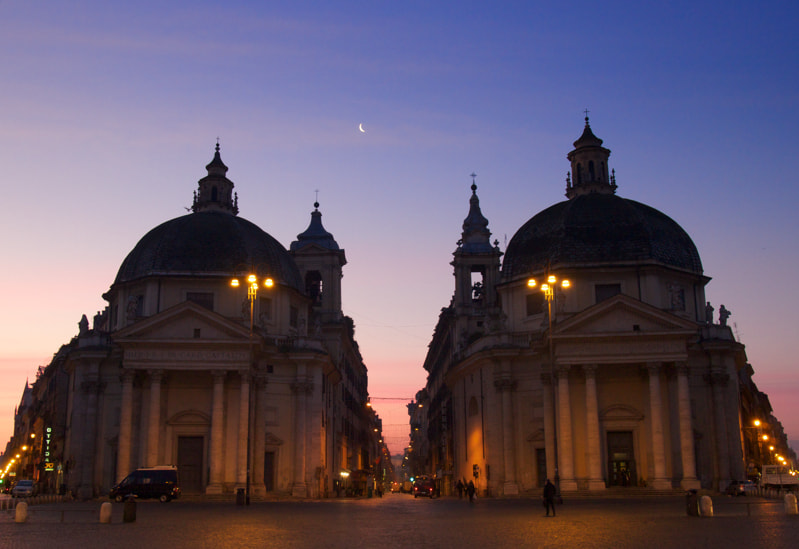 Photograph Piazza del Popolo by Paolo Costantino on 500px