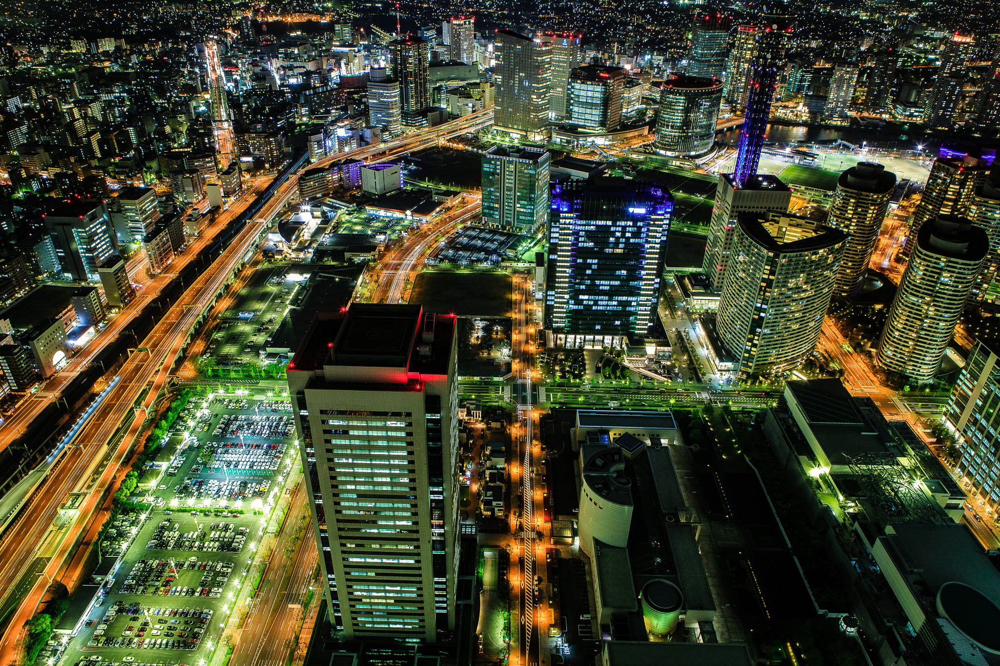 Photograph Yokohama by night 3 by Huy Tonthat 2 on 500px