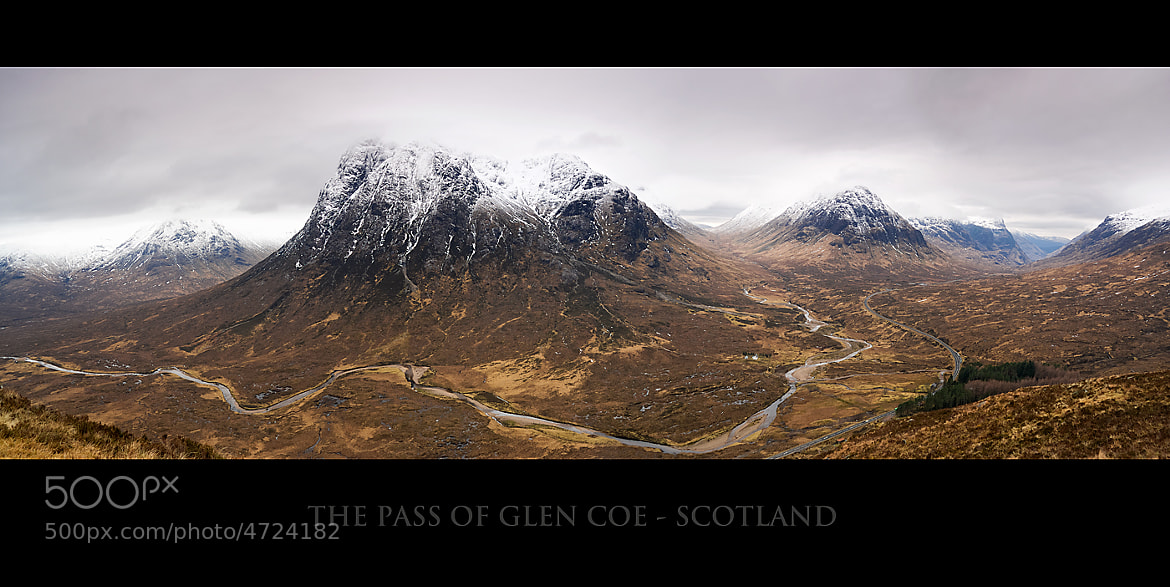 Photograph Pass Of Glen Coe by Gary Howells on 500px