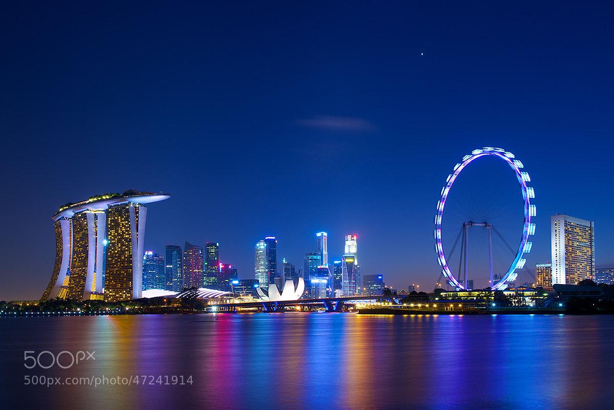Photograph Singapore Skyline by David Kosmos Smith on 500px