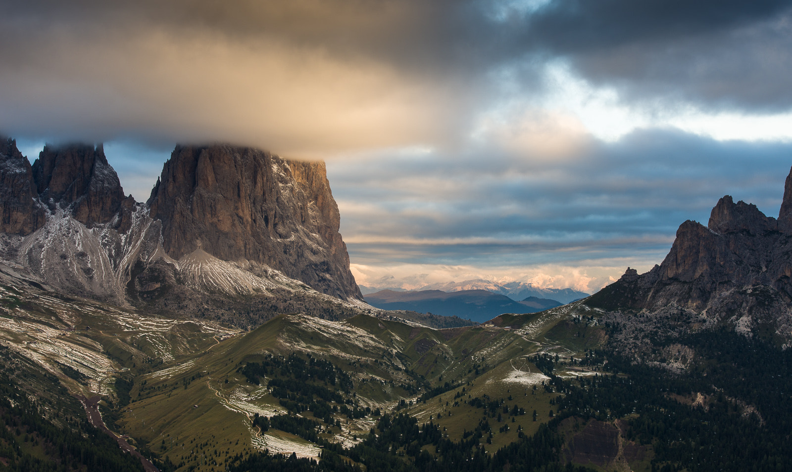 Photograph Morning light over Sassolungo by Hans Kruse on 500px