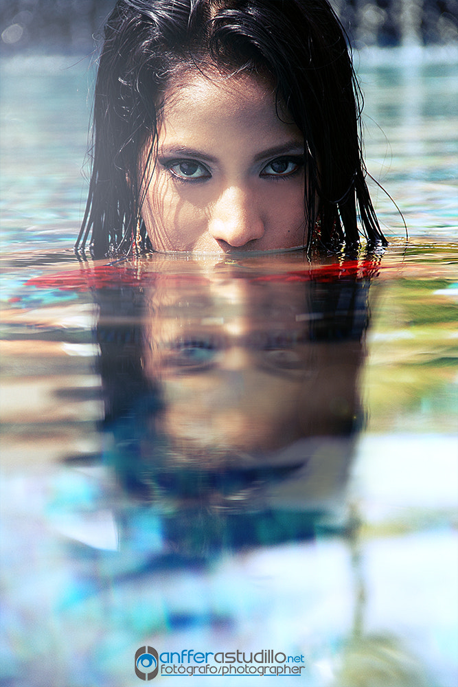Photograph eyes miri pool by anffer astudillo on 500px
