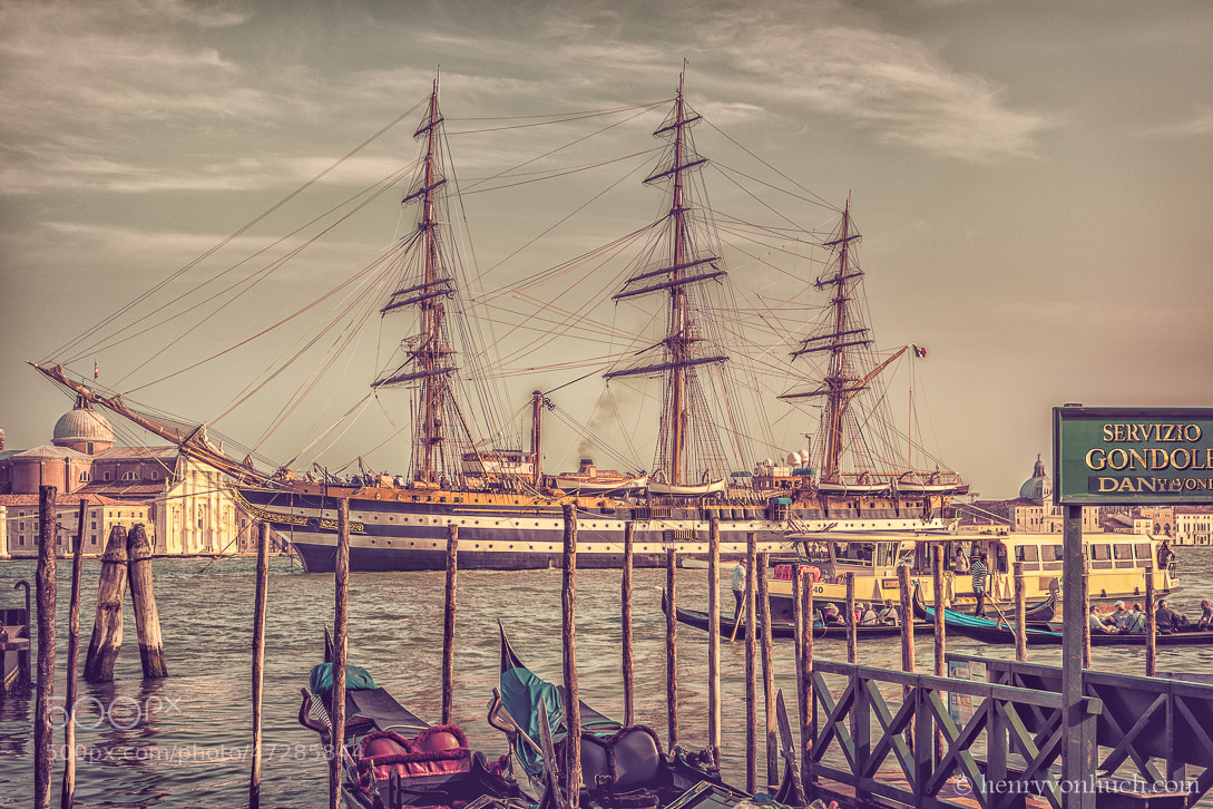 Photograph Amerigo Vespucci in Venice by Henry von Huch on 500px