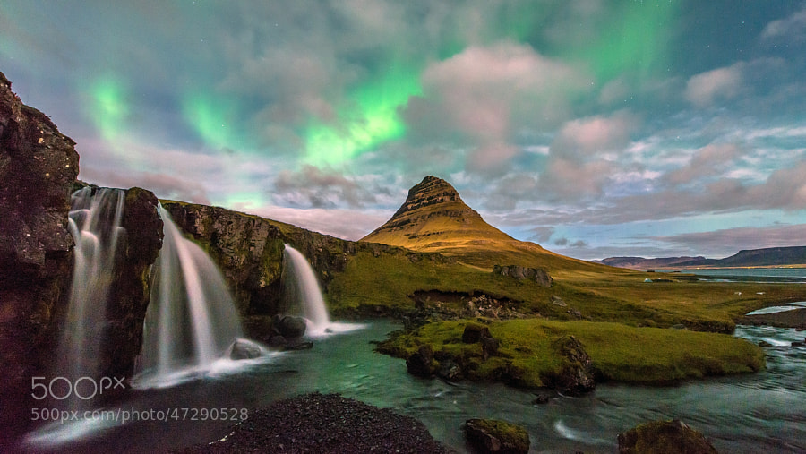 Photograph Kirkjufell Aurora by Stian Rekdal on 500px