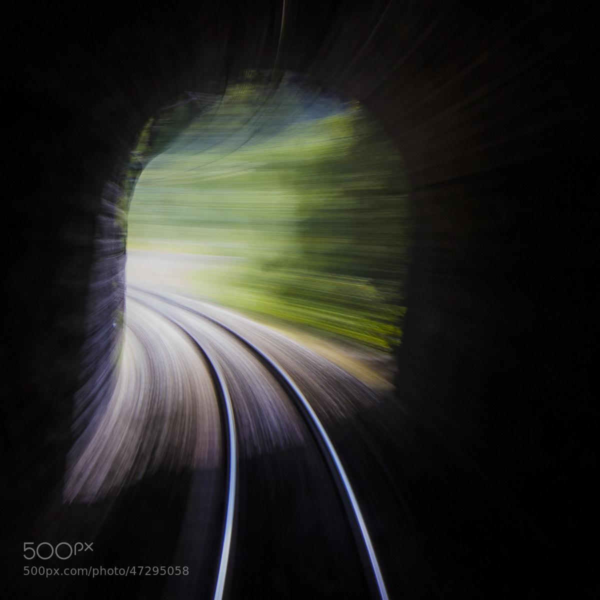 Photograph Au bout du tunnel by Alexandre Lachausse on 500px