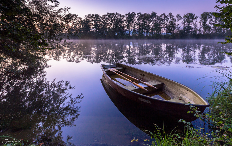 """Photograph """"Boat on the river"""" by Jan Geerk on 500px"""