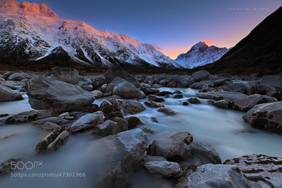 Photograph Aoraki Rises by Christian Lim on 500px