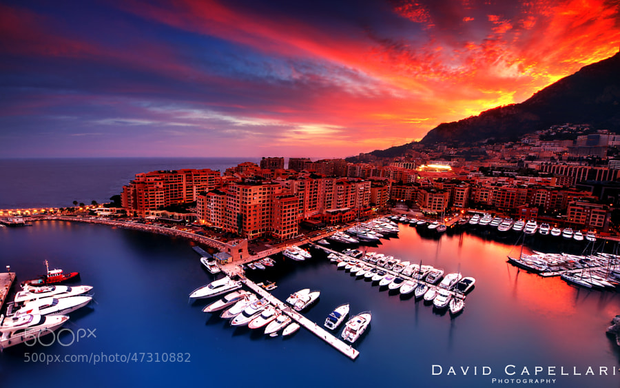 Fontvieille Monaco by davidcapellari