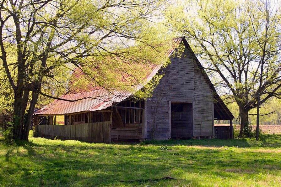 Photograph Barn In Spring by Joe Dougherty on 500px