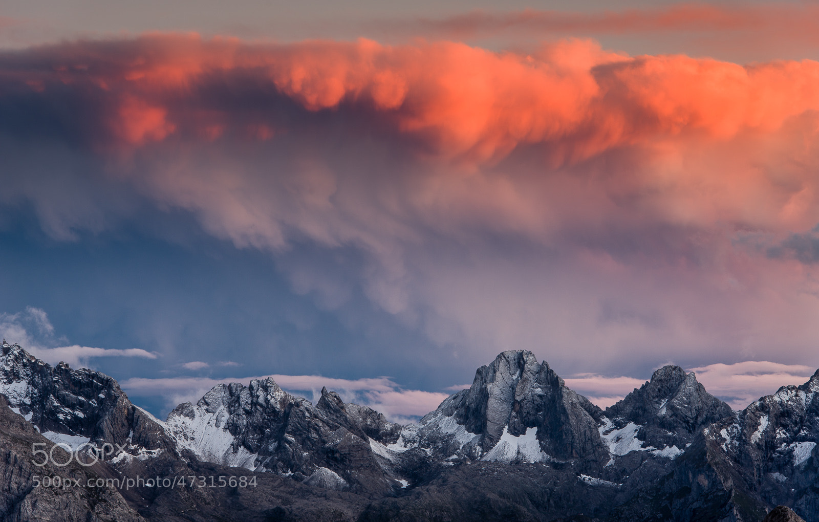 Photograph Sunset at Tre Cime di Lavaredo by Hans Kruse on 500px