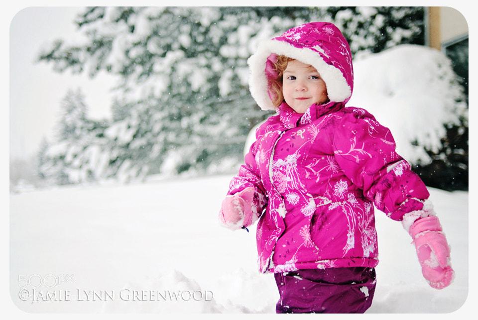 Photograph Snow Angel by Jamie Lynn Prestia on 500px